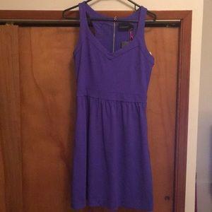 Purple Cynthia Rowley dress